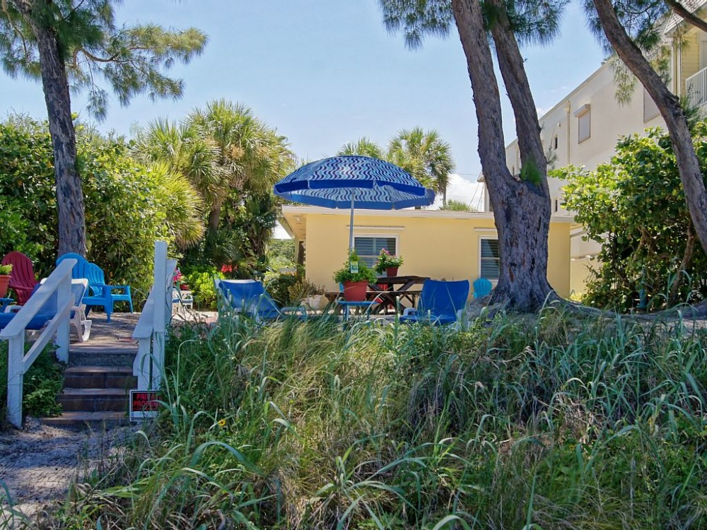 indian rocks beach vacation rental with Sandy Shores - View from the Beach