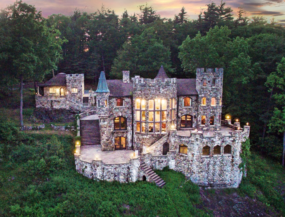 Bolton vacation rental with Highlands Castle... overlooking Lake George