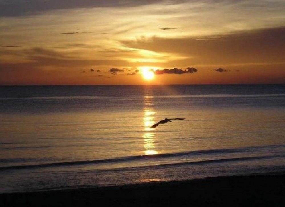 venice vacation rental with Sunset at our private association beach!!!
