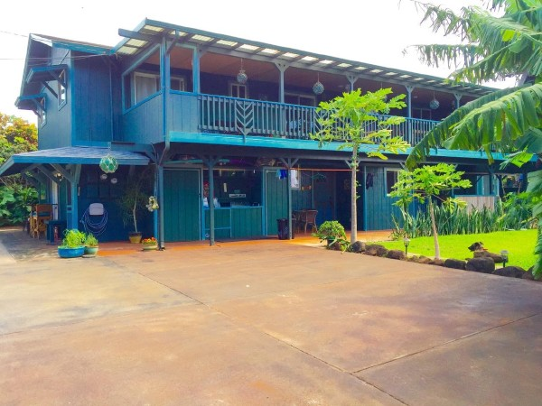 Mangolani Inn - Paia 4 or 5 Bedroom House (Upstairs House)