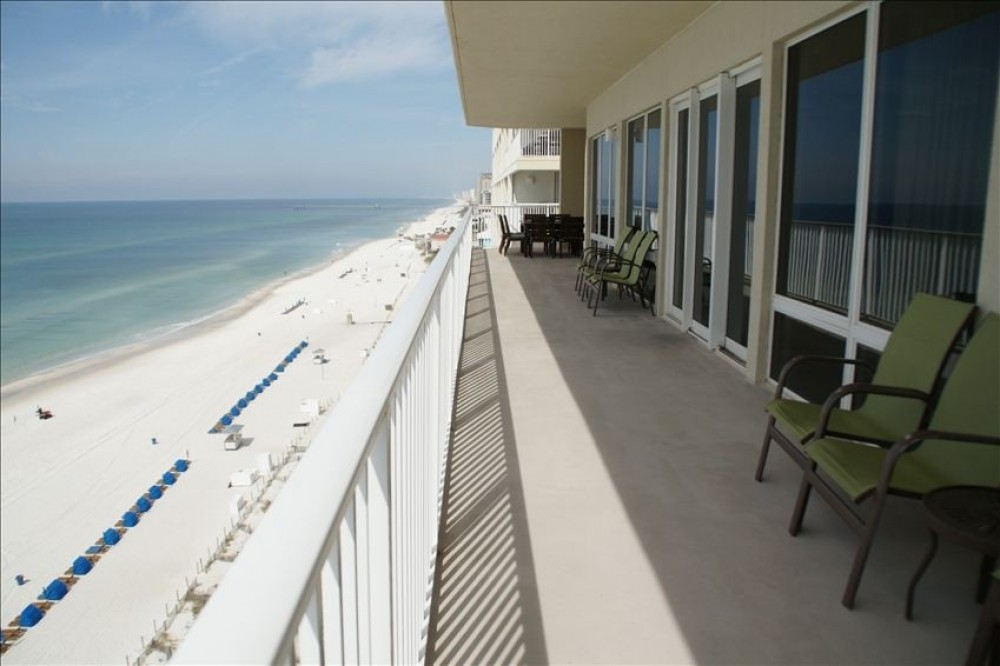 Panama City Beach vacation rental with Huge wrap a round balcony