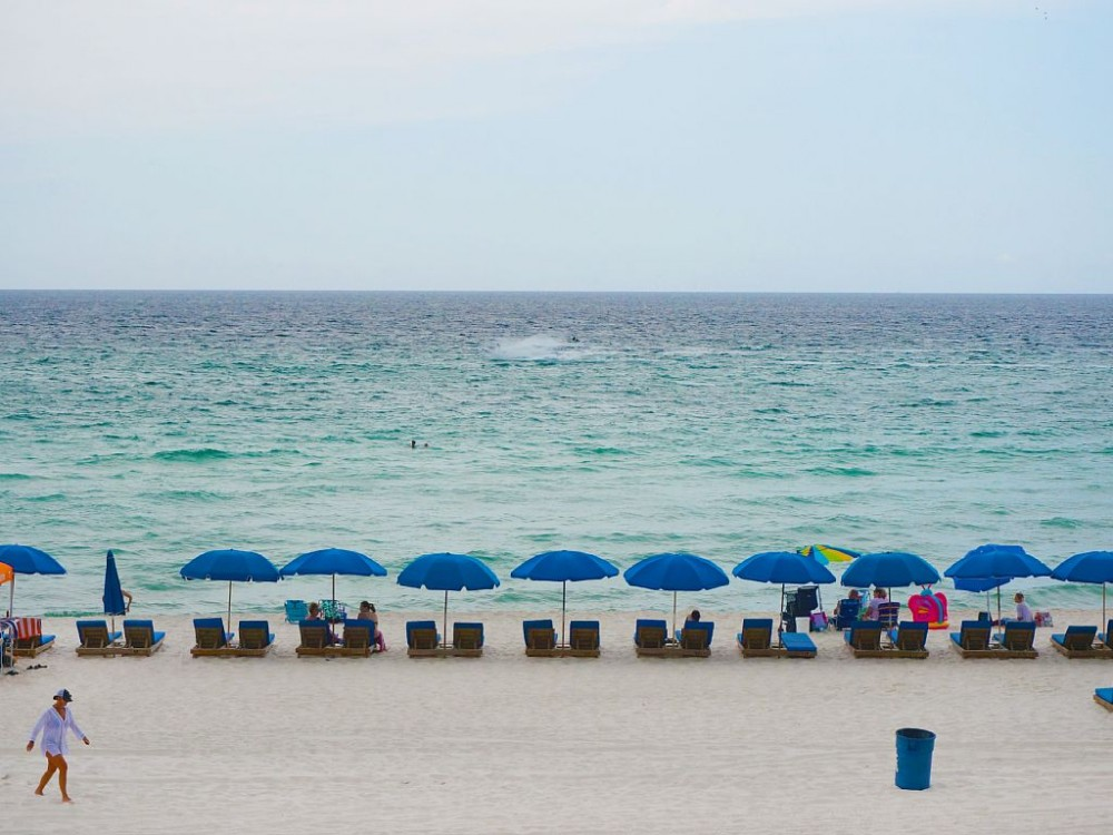 panama city beach vacation rental with Our beautiful beach