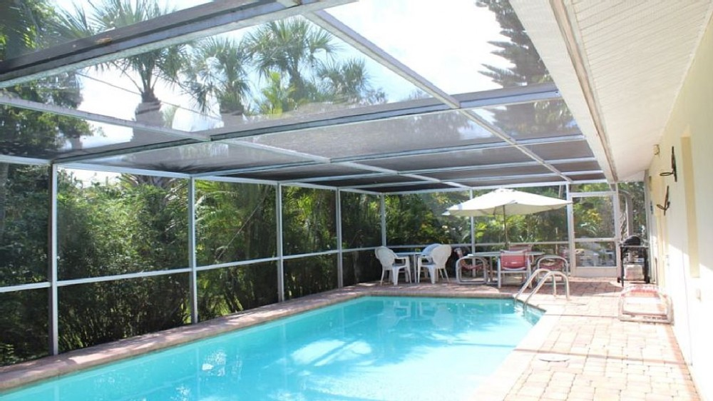 fort myers beach vacation rental with Heated pool