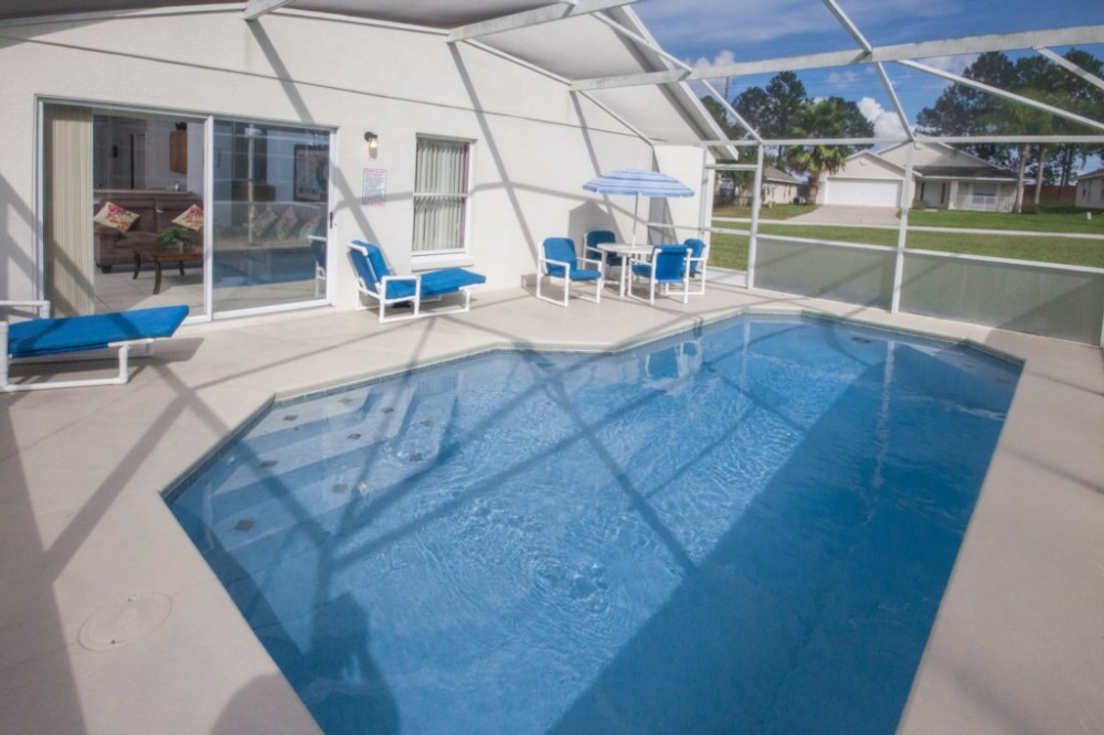 Orlando vacation rental with The Glorious South Facing Pool