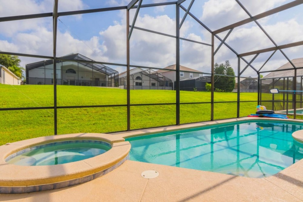 Orlando vacation rental with The Glorious Private Pool and Spa
