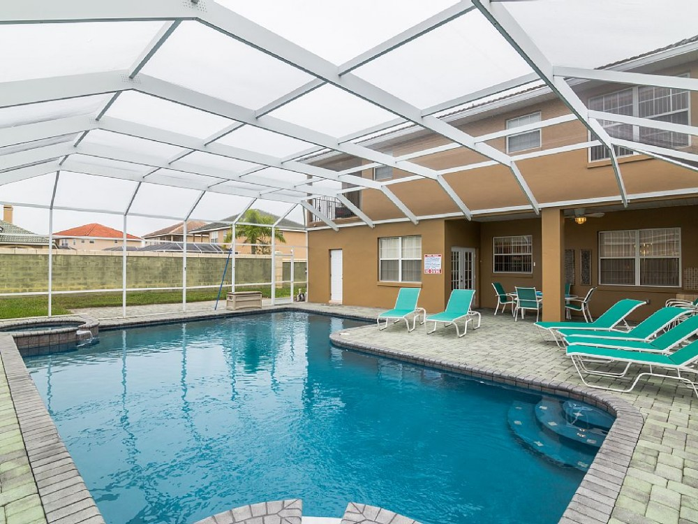 Davenport vacation rental with Luxury 5* Villa near Disney with Heated Pool