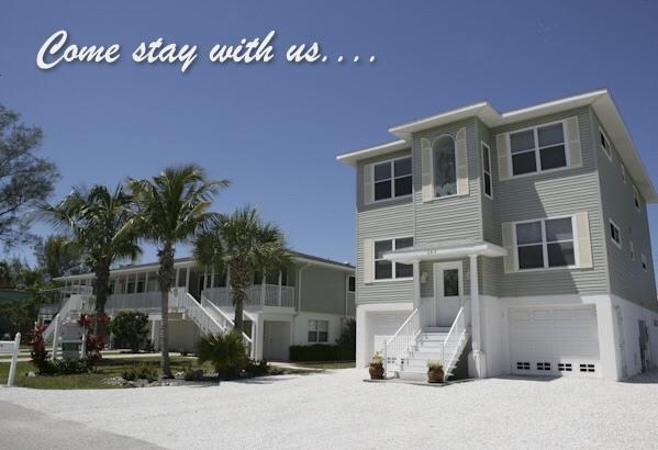 Family Reunion Villas on AnnaMaria Island, Florida