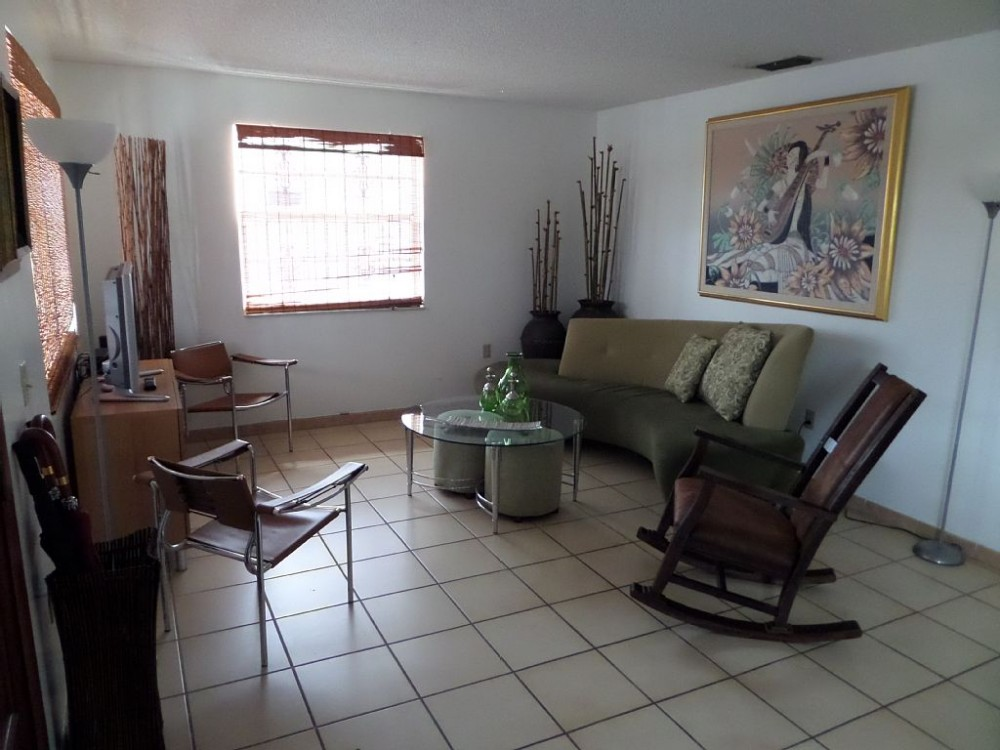 Miami Area vacation rental with Entrance to Living Room
