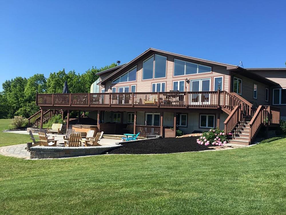 Dansville vacation rental with Redmond House