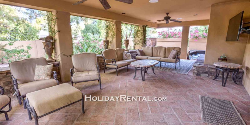 scottsdale vacation rental with Covered Patio Seating