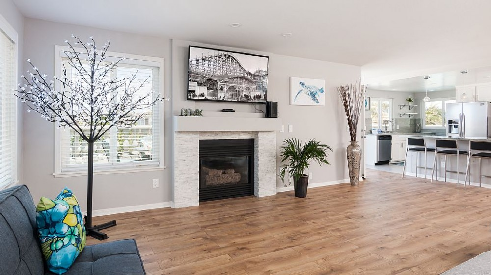 san diego vacation rental with Open, spacious living room