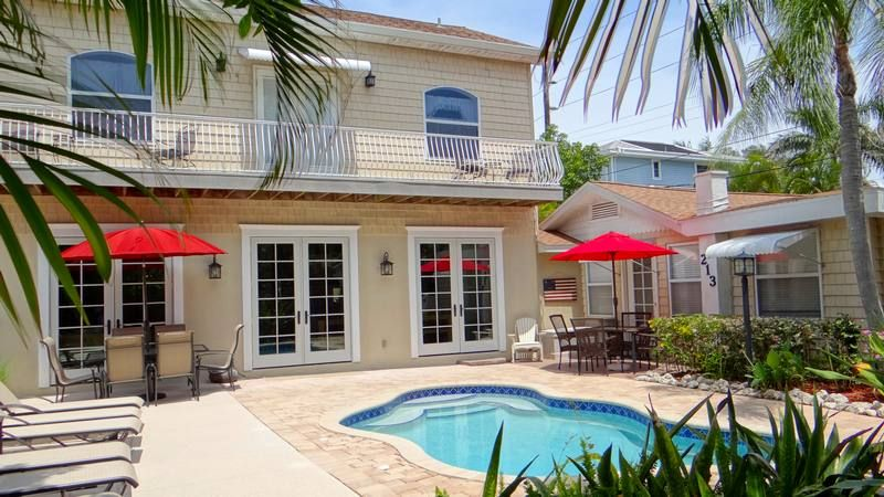 Anna Maria Northshore Luxurious 5 Bed/4bath Newly Remodeled Available Easter