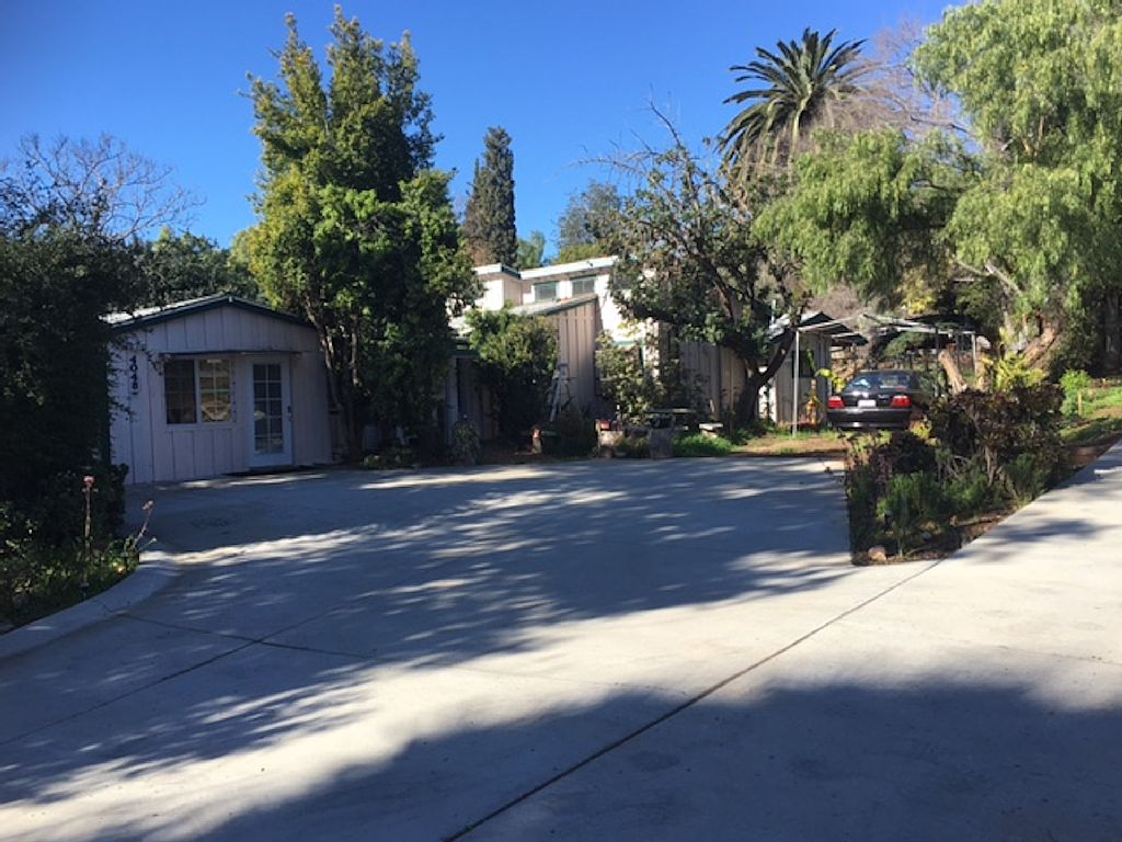 San Diego Suburb, Secluded with Lots of Trees
