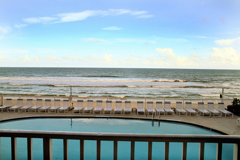 Satellite Beach vacation rental with Your private direct ocean front balcony view