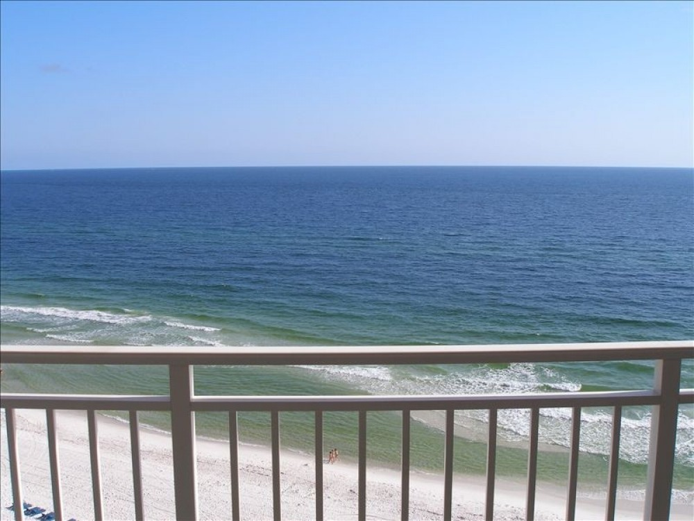 Panama City Beach vacation rental with Amazing View from Balcony