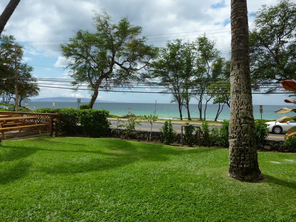 Kihei vacation rental with View from the Lanai