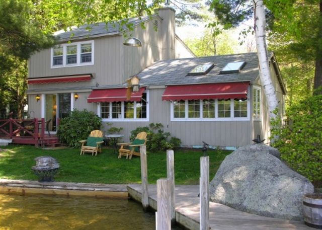 Lake Winnipesaukee Waterfront Rental in Tuftonboro NH. (149)