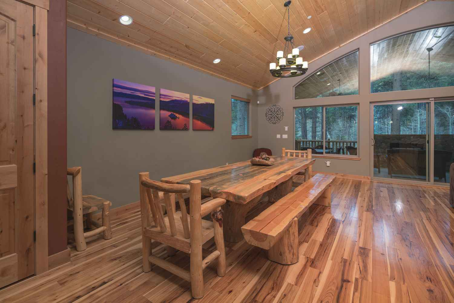 South lake tahoe california vacation rental 7 bedroom 8 for Mansion house plans with indoor pool