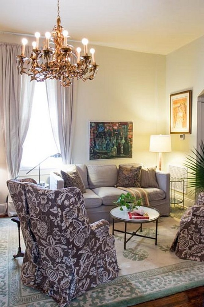 New Orleans vacation rental with Living Area