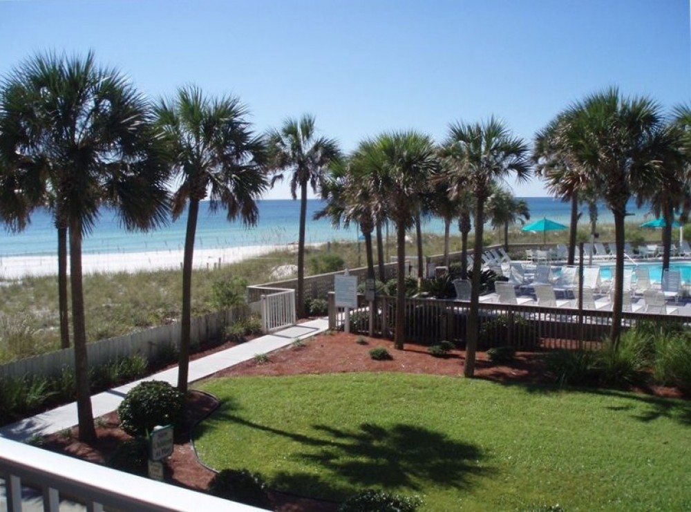 Panama City Beach vacation rental with View from Balcony