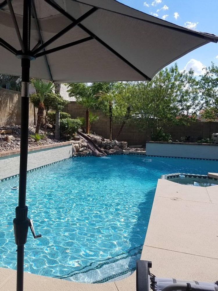 phoenix vacation rental with Large pool, heated in winter