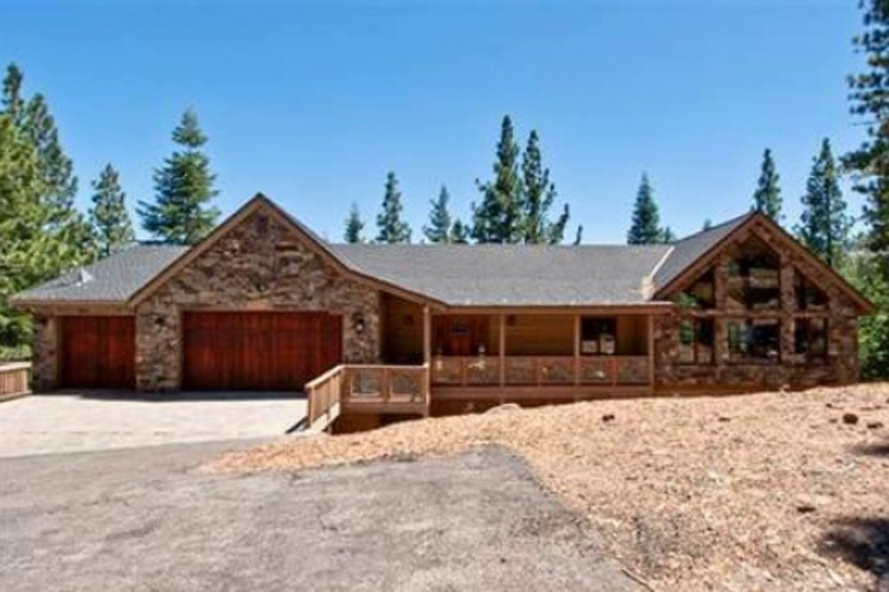 South Lake Tahoe vacation rental with Front View of Cabin