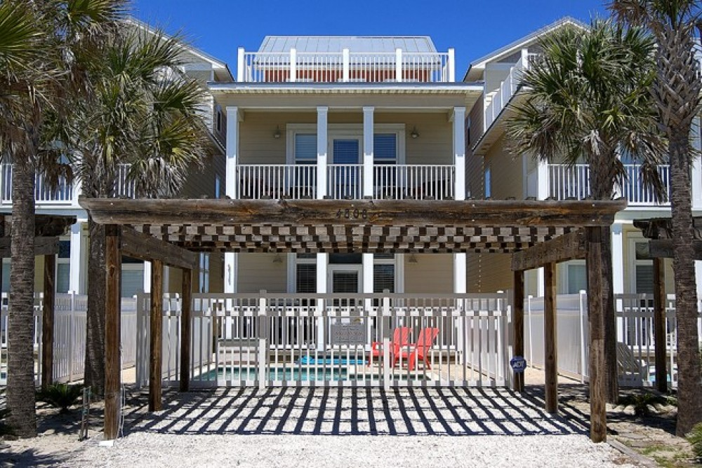panama city vacation rental with
