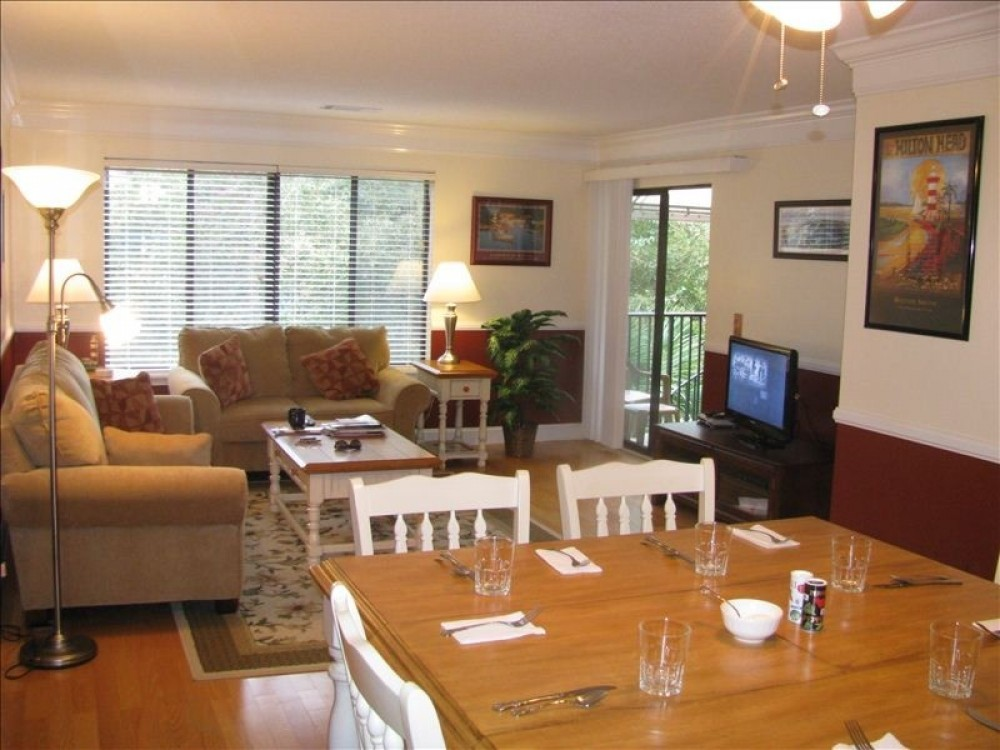 Hilton Head Island vacation rental with The cozy living room