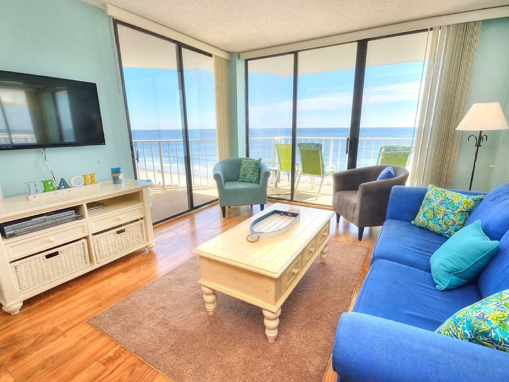 Beautiful 2 Bedroom 2 Bath Direct Ocean Front! - Remaining 2016 Wks Only $595