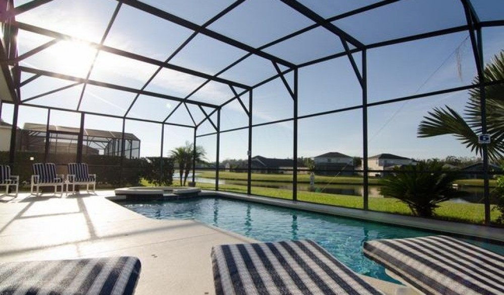 kissimmee vacation rental with Pool area
