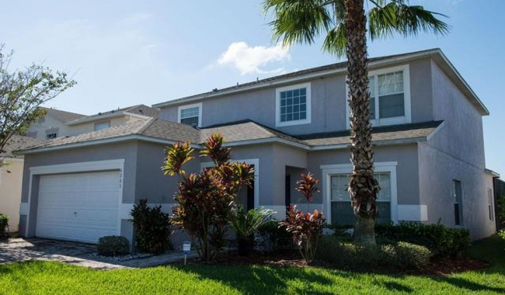kissimmee vacation rental with Front of Home