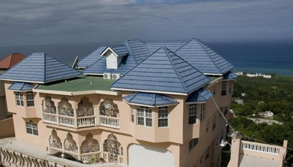 Montego Bay vacation rental with The view of  front of the house..