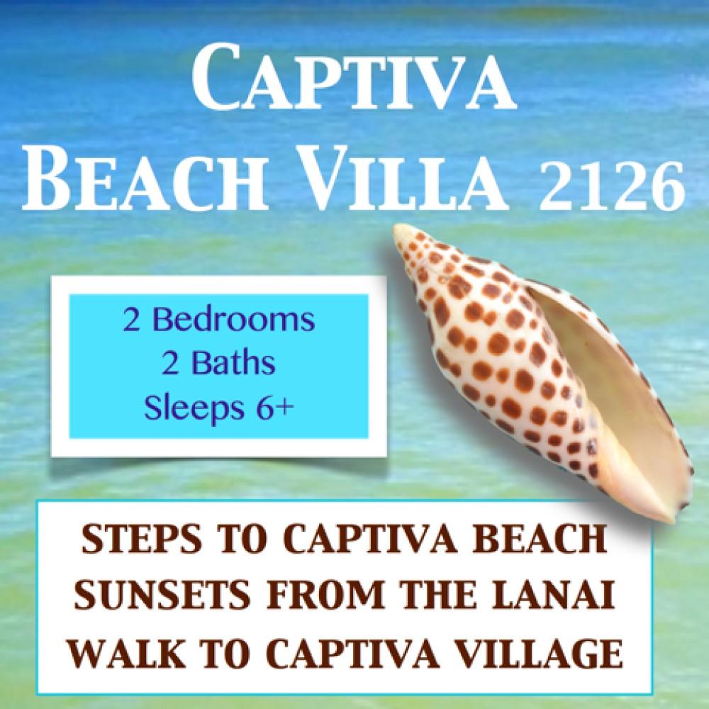 captiva vacation rental with