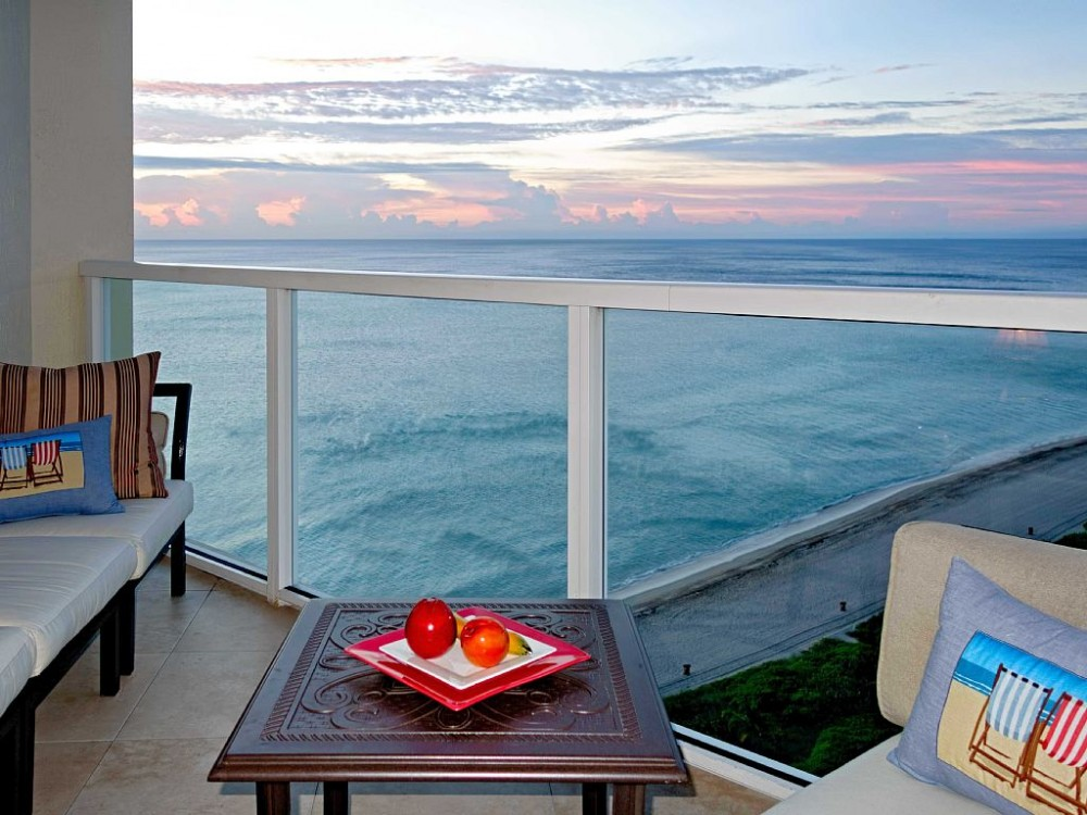 Miami Area vacation rental with This Balcony is Super Cozy!