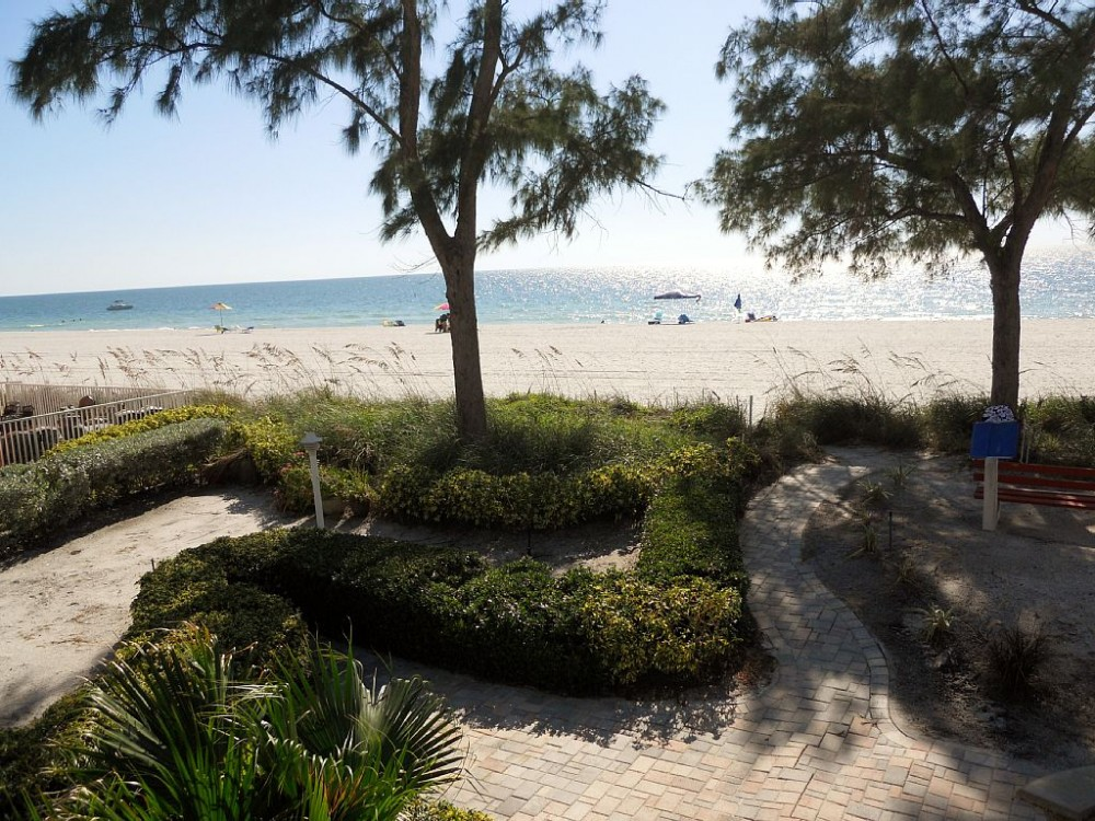 treasure island vacation rental with View of Beach from upper unit