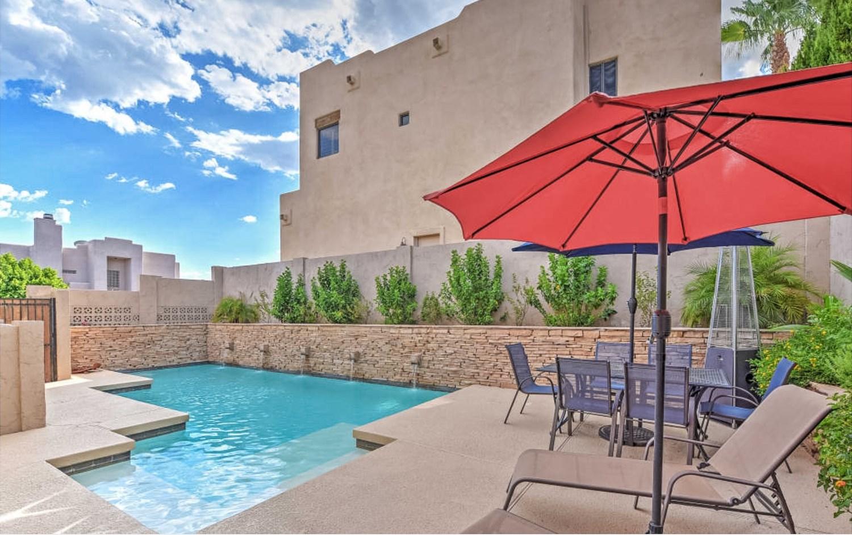 Mountainside 3BR Phoenix House W/ Designer Pool & Lovely Mountain Views