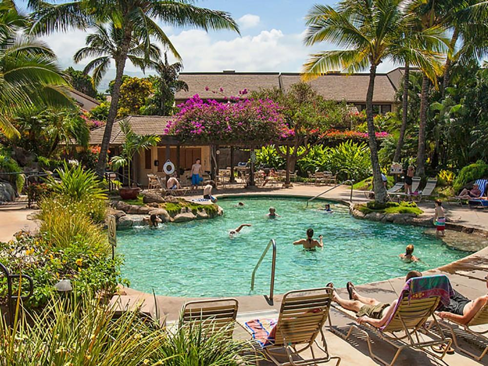 Kihei vacation rental with Amazing Tropical Pool Area