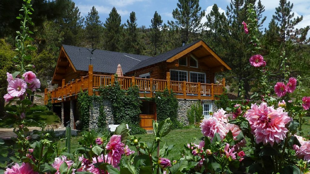 Angelus Oaks vacation rental with