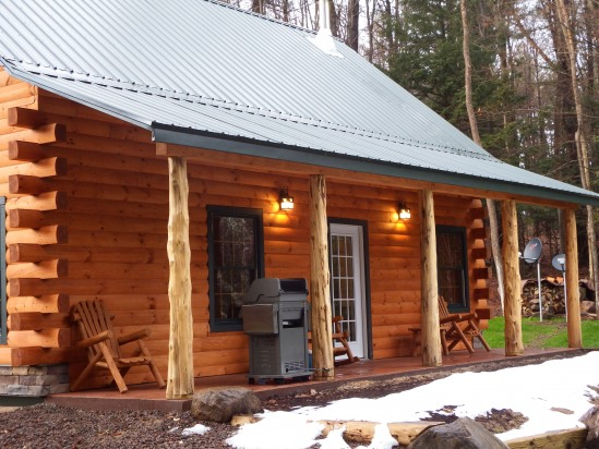 Adirondack Waterfalls Cabin Bran new