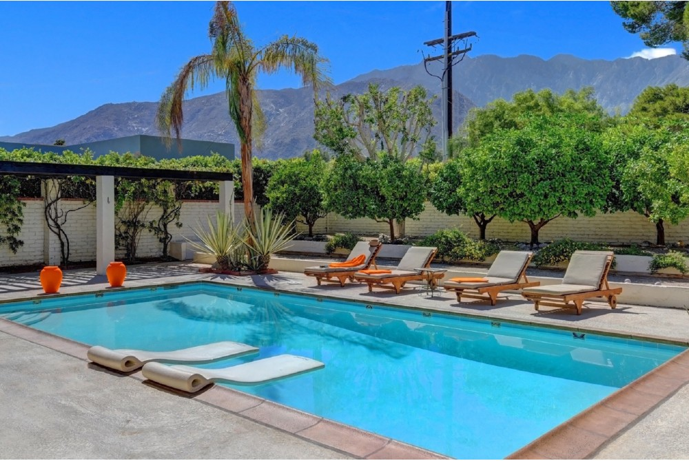 Palm Springs vacation rental with