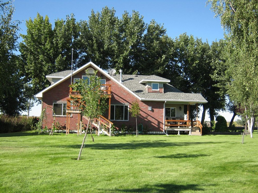 Fort Peck vacation rental with Looking from the River