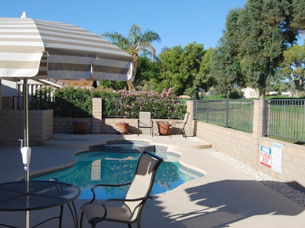 Another Gorgeous Day in the Desert! Enjoy our Beautiful Pool Home!