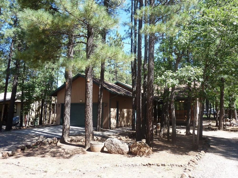 pinetop vacation rental with