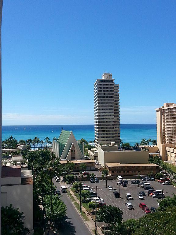 1 Block from Waikiki Beach, Newly Available Condo