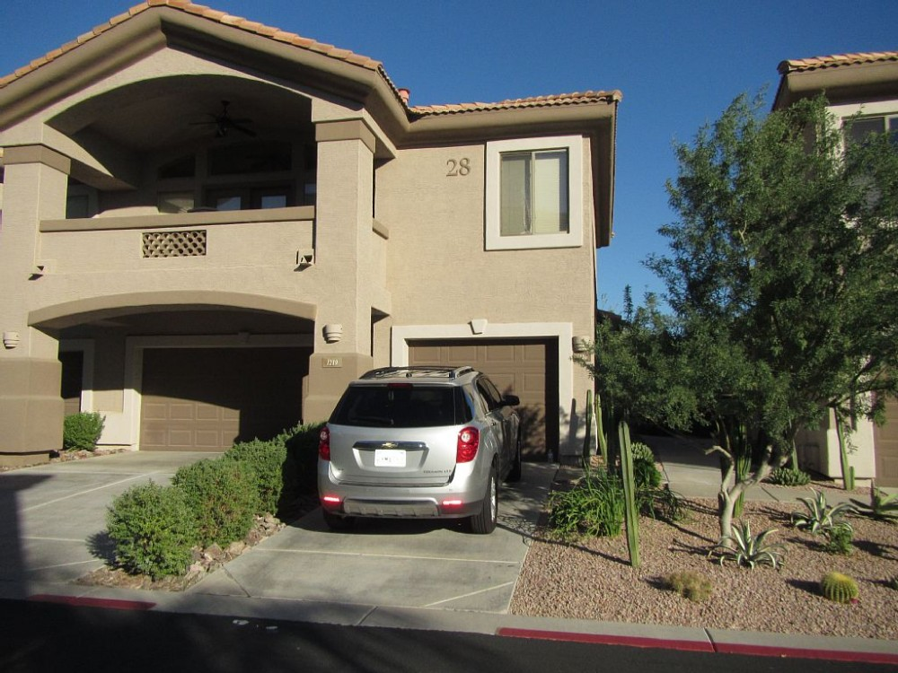 scottsdale vacation rental with Front Entry