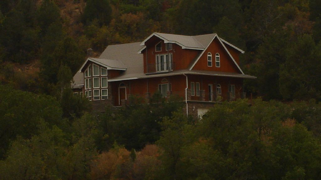Home on 16 Acres Nestled High on the Hill with Views Overlooking Lydia