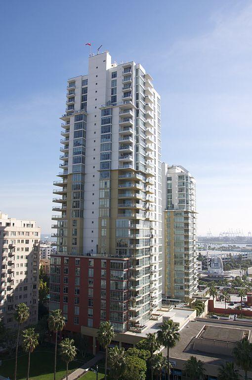 Premier downtown Long Beach luxury highrise 2 bdr 2 bath condo