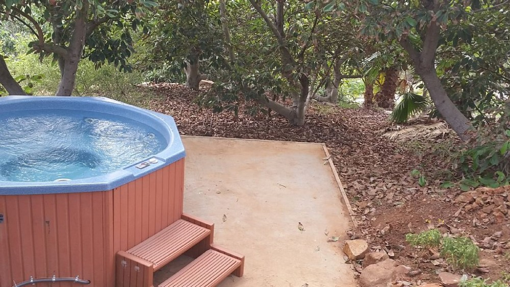 Rainbow vacation rental with Your private hot tub.