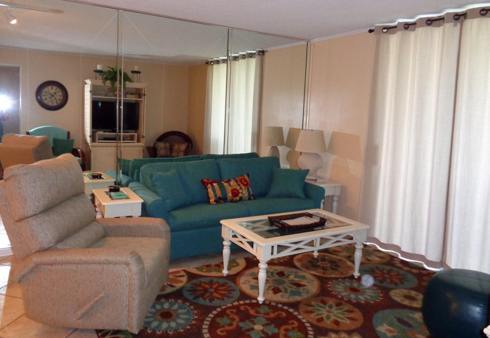 gulf shores vacation rental with Living area with sleep sofa