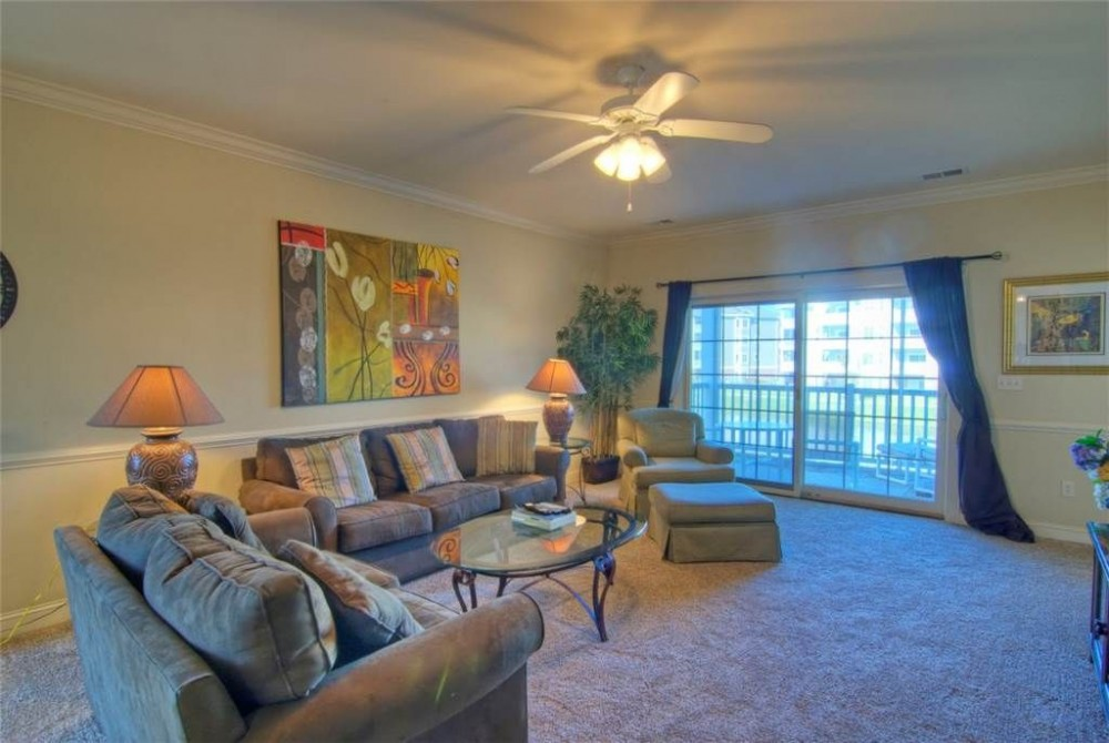 myrtle beach vacation rental with Living Room